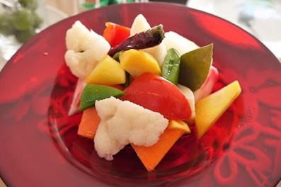 冬野菜のピクルス